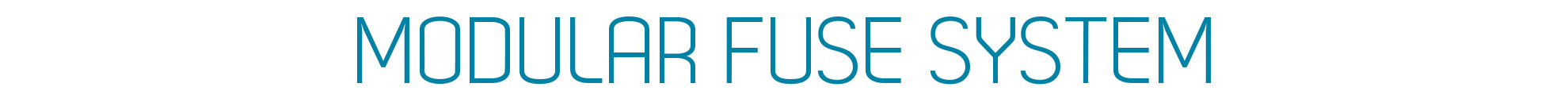 Modular Fuse System
